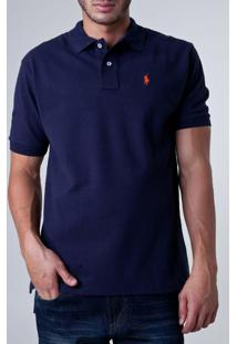 Camisa Polo Ralph Lauren Wicket Azul