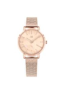 Relógio Tommy Hilfiger Feminino Aço Rosé - 1782042