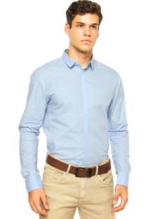 Camisa Calvin Klein Jeans Ckj Azul