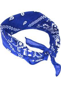 Lenço Mozzi Bandana Azul