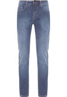 Calça Masculina Jeans Riva Stitch - Azul