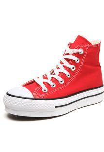 Tênis Converse Chuck Taylor All Star Pla Vermelho