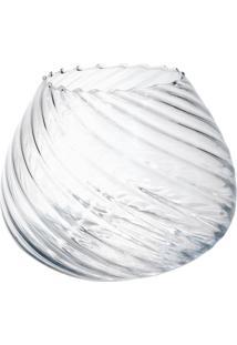 Vaso Bianco & Nero Moon 15,5X19Cm Transparente - Kanui