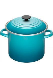 Caldeirão Esmaltado Stock Pot Le Creuset Azul Caribe 22Cm - 16348