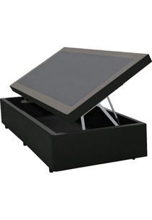 Cama Box Baú Orthocrin Couríno Black Solteiro 88