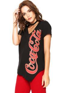 Camiseta Coca Cola Logo Preta