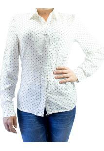 Camisa Facinelli 660073 Ml - Feminino-Off White