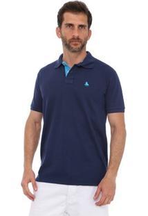 Camisa Polo England Polo Club Casual - Masculino-Marinho