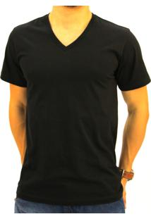 Camiseta Pau A Pique Masculina Preto