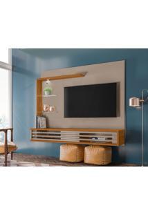 Painel Para Tv Até 50 Polegadas Frizz Select Fendi E Naturale