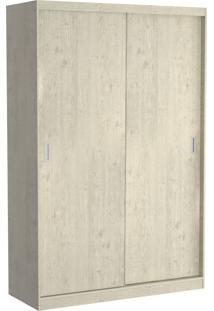 Guarda Roupa 02 Portas De Correr 813 Marfim Areia M Foscarini - Tricae