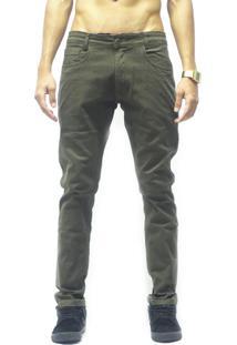 Calça Presence Sarja Verde Militar