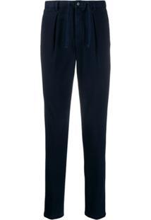 Circolo 1901 Drawstring Waist Trousers - Azul