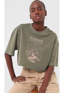 Camiseta Oh, Boy! Sunshine Verde - Kanui