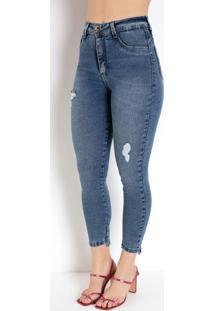 Calça Jeans 360º Cigarrete Sawary
