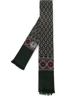 Dolce & Gabbana Lenço Gravata De Seda - Green