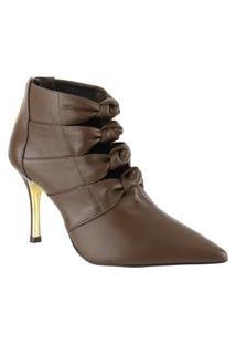 Bota Ankle Boot 80209 - Saara Fossil