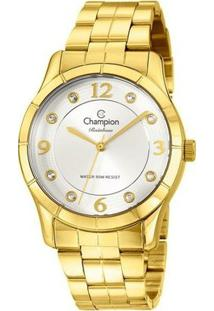 Relógio Champion Feminino Rainbow - Cn29909H - Feminino-Dourado
