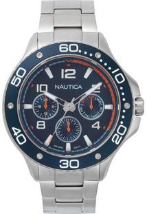 72fb29ba703 Ir para a loja  Relógio Nautica Masculino Aço - Napp25006