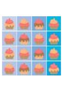 Adesivo De Azulejo Cupcakes 20X20Cm