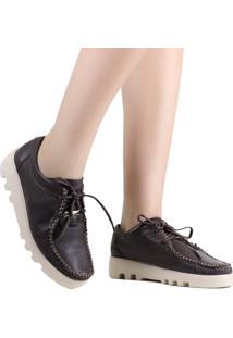 Sapato Zariff Shoes Mocassim Couro Marrom
