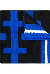 Fiorucci Cachecol Color Block - Azul
