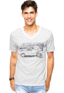 Camiseta Triton Car Off-White