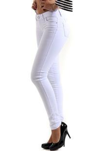 Calça Sarja Feminina Sawary - Branco