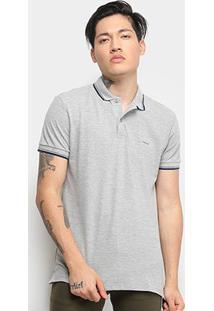 Camisa Polo Colcci Masculina - Masculino-Mescla
