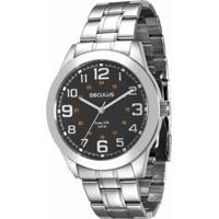 f597c15cf4c Relógio Seculus Masculino - Masculino-Prata