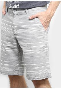 Bermuda Burn Slim Com Bolso Faca Masculina - Masculino