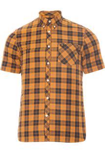 Camisa Masculina Tartan - Amarelo