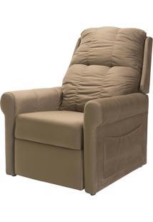 Poltrona Cadeira Reclinável Turin, Marrom Animale