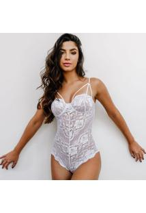 Body Nimphea Bloom Branco G