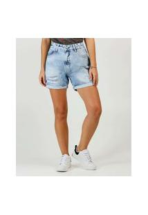 Bermuda Jeans Destroyed Feminina Disparate