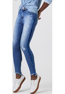 46bfdba23 ... Calça Jeans Feminina Super Skinny Cintura Alta