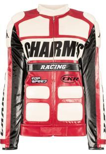 Charm'S Jaqueta Biker X Kappa - Red