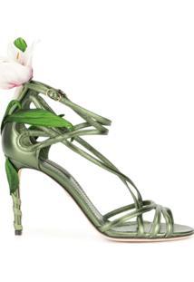 Dolce & Gabbana Sandália Lily - Verde