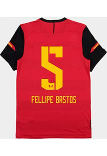 Camisa Sport Recife I 2018 Nº 05 Fellipe Bastos - Torcedor Under Armour Masculina - Masculino