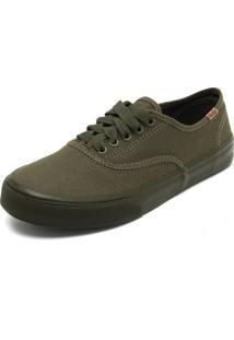 Sapatênis Coca Cola Shoes Recortes Verde