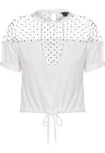 Blusa Feminina Ritz - Branco