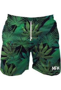 Short Tactel Maromba Fight Wear Bush Com Bolsos Masculino - Masculino-Preto+Verde