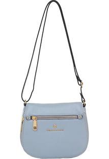 Bolsa Smartbag Trasnversal - Feminino-Azul