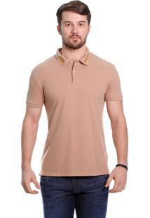 Camisa Polo Javali Caqui Louro