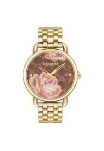 Relógio Coach Feminino Aço Dourado - 14503164