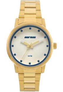 14b7b0420473e Zattini. Relógio Feminino Mormaii Dourado ...