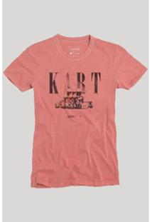 Camiseta Reserva Kart Masculina - Masculino-Vermelho Claro