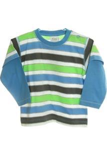 Camisa Listrada E - Masculino