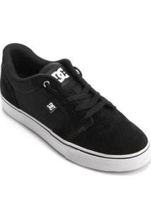 Tênis Dc Shoes Anvil La Masculino - Masculino-Preto+Branco