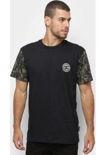Camiseta Dc Shoes Camo Circle Masculina - Masculino